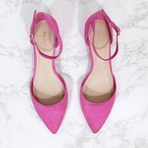 Aldo Shoes - Aldo Pink Low Block Heel